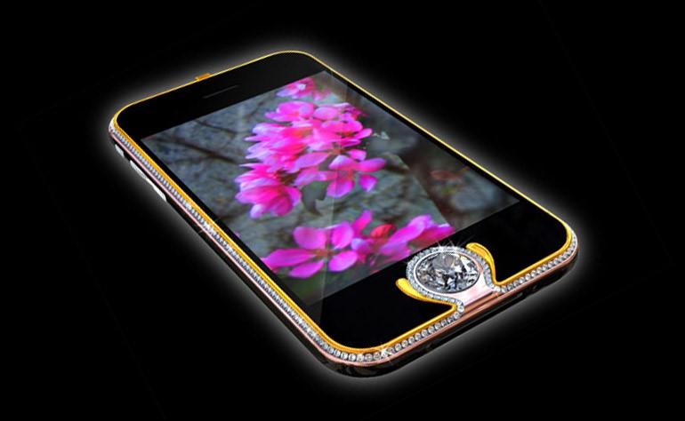 Внешний вид смартфона Apple iPhone Kings Button