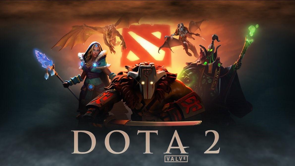 Обложка игры Dota 2