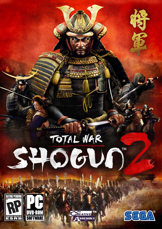 Обложка игры Shogun 2