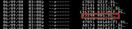 №4. Список файлов на установочном носителе