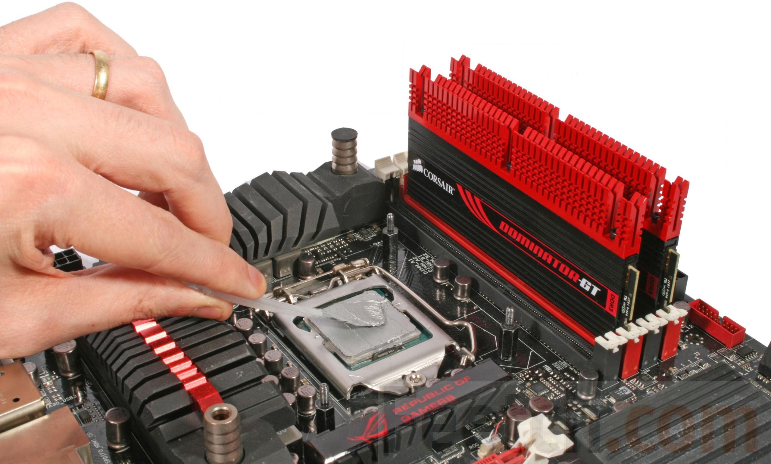 нанесение термопасты на процессор пк инструкция