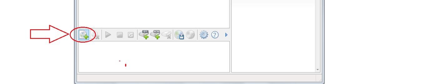 №7. Кнопка добавления образа в Daemon Tools