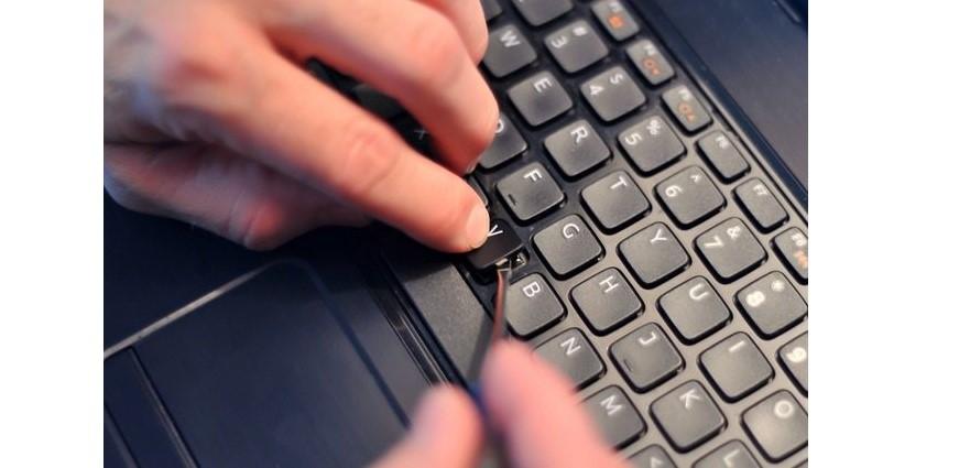 №3. Процесс разборки клавиатуры