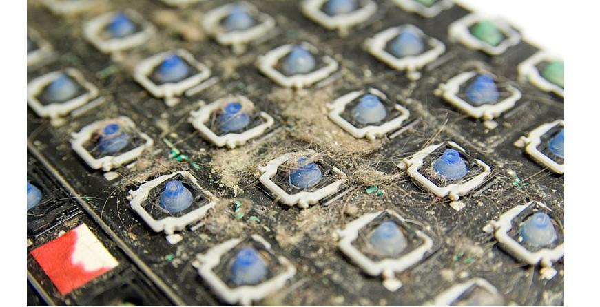 №5. Панель компьютера без клавиатуры