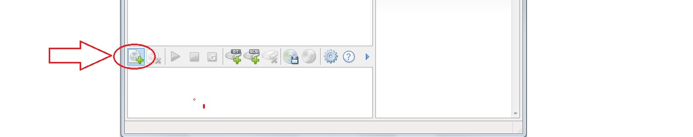 №13. Кнопка добавления образа в Daemon Tools