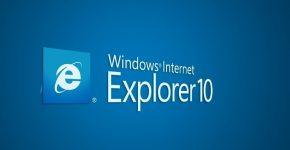 Заставка браузера Internet Explorer