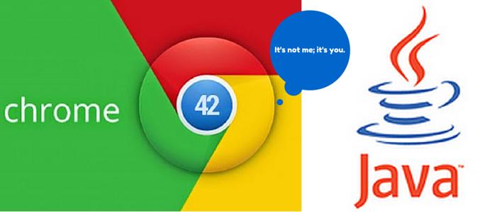 Почему в Chrome нет Java