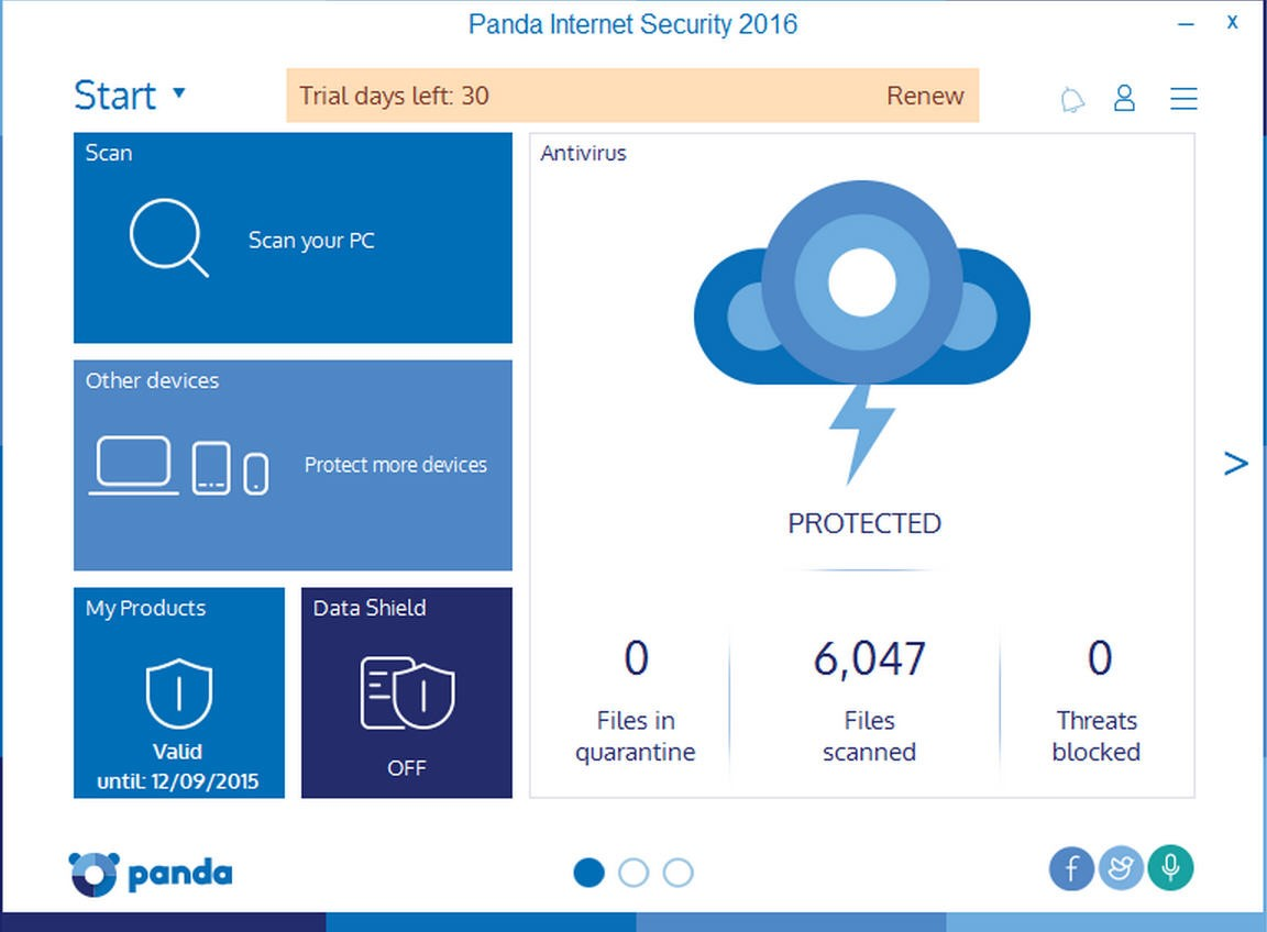 №14. Panda Security Free Antivirus