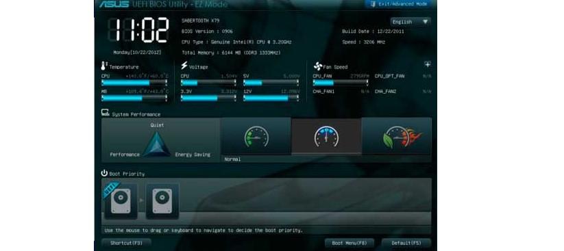 №14. Интерфейс UEFI BIOS