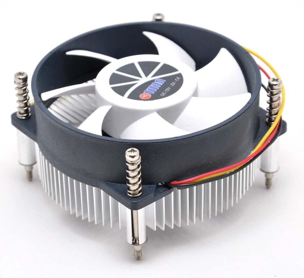 №2. Современная модель кулера с радиаторной решёткой