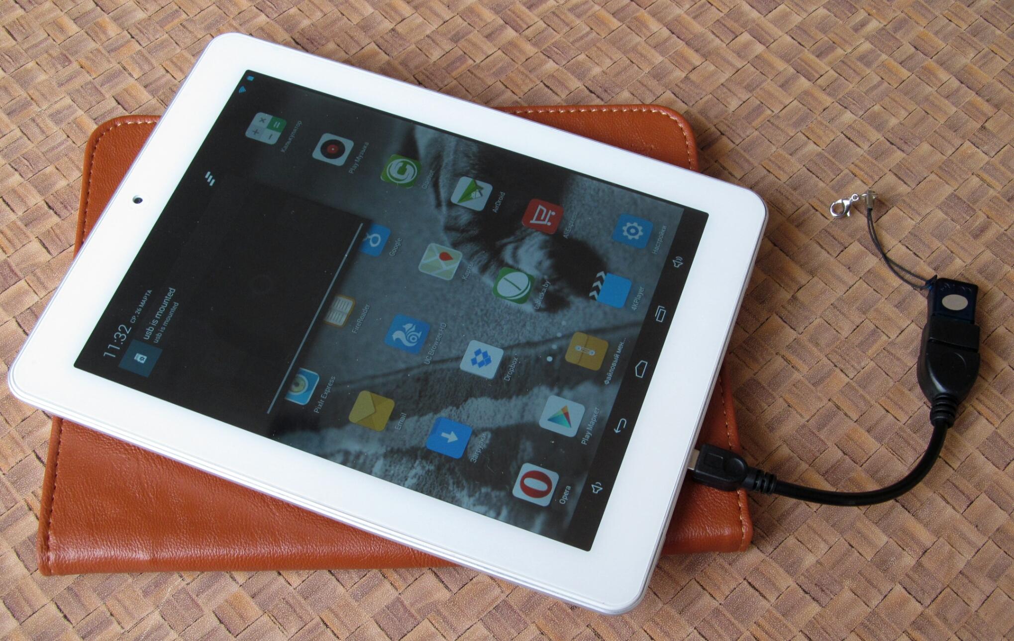 Как подключить модем к планшету Android