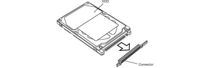 №11. Снятие переходника с SATA на IDE или наоборот