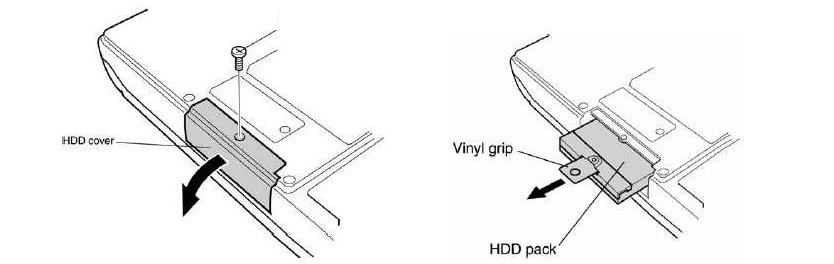 №9. Снятие «вспомогательного» отсека для снятия крышки