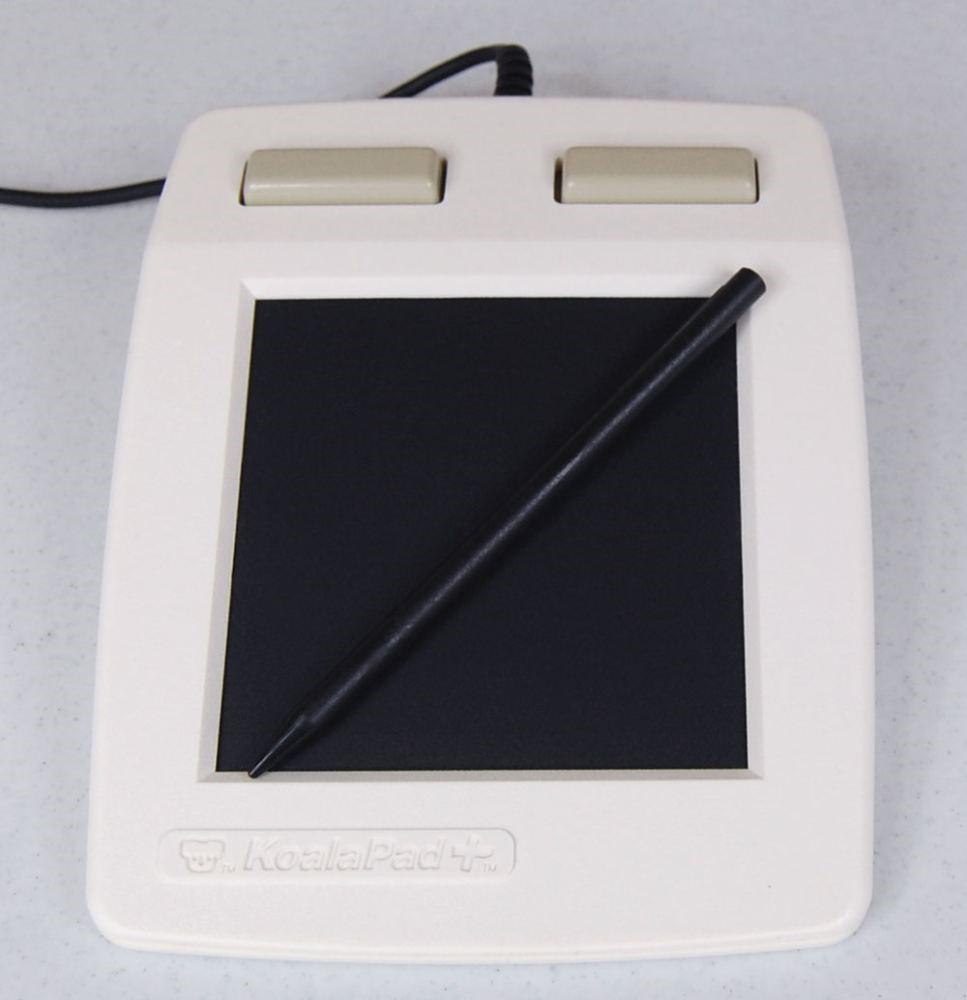 Один из первых графических планшетов
