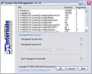 Приложение PageDefrag