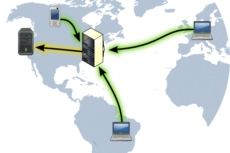 Структура VPN