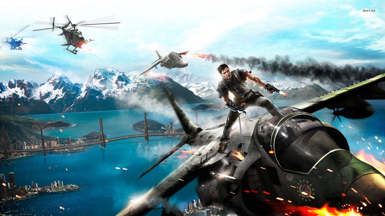 №4. Just cause 2