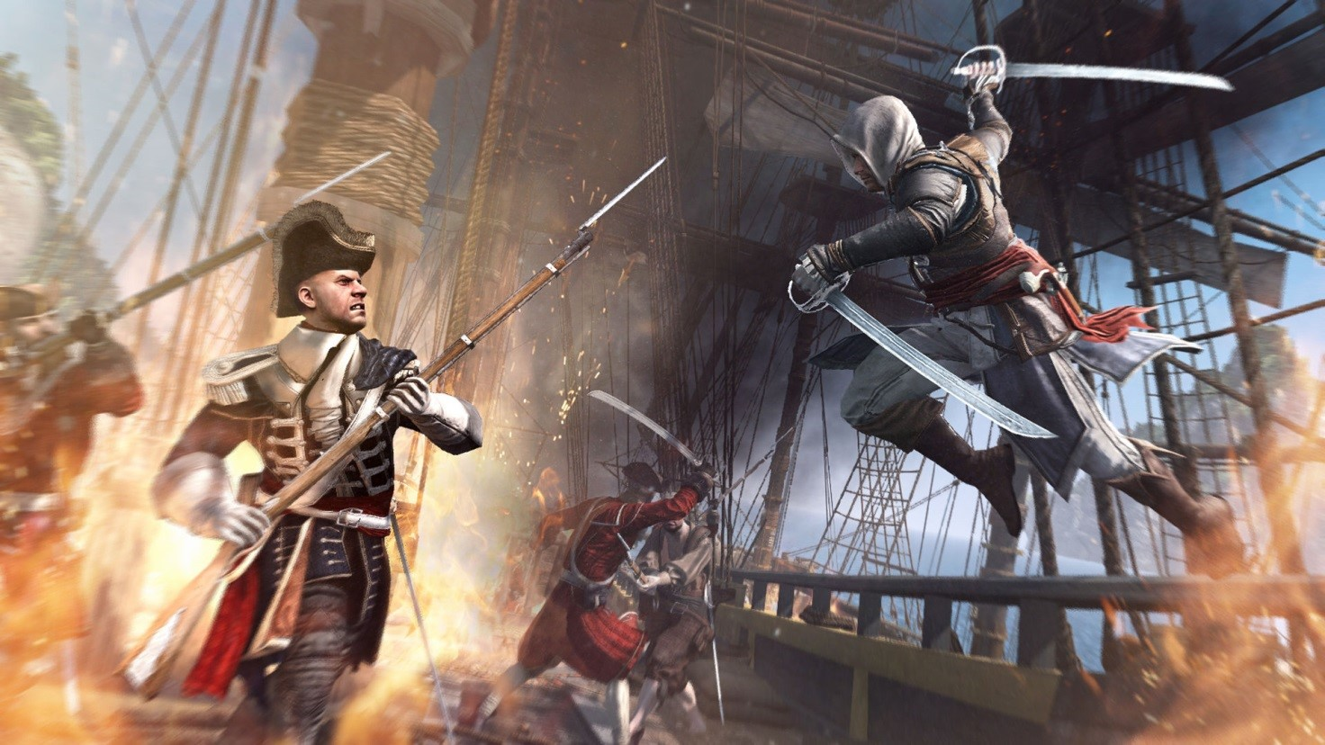 №7. Assassin's Creed IV: Black Flag