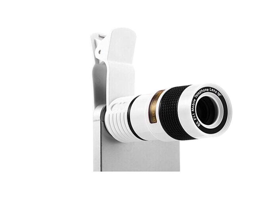 Рис. 1 Универсальный съемный объектив Tube Telescope – прекрасный способ заглянуть за предел видимости камеры смартфона.