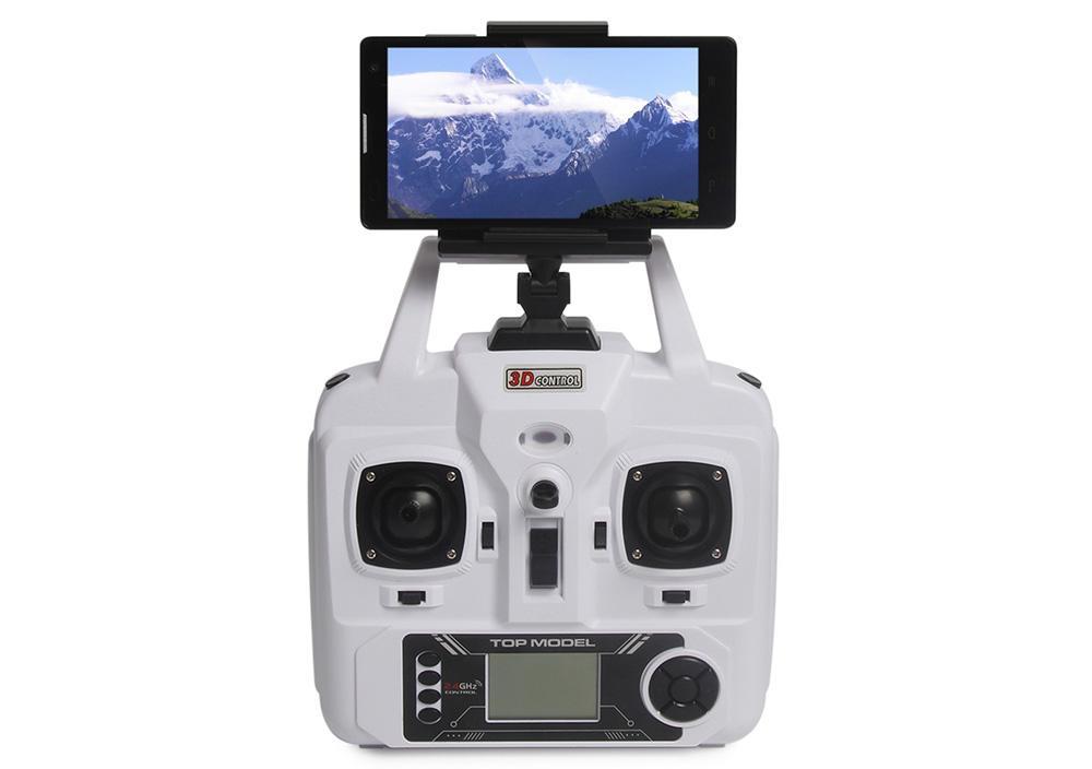 Рис. 3 – крепление смартфона к дрону.