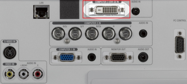 Рис.7. Интерфейс DVI.