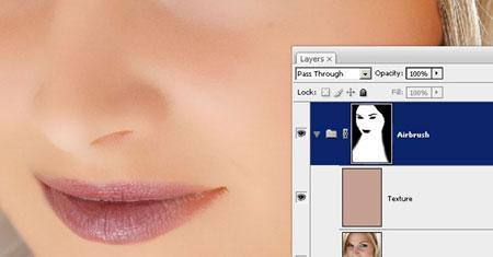 Рис. 11 – результат заполнения лица цветом