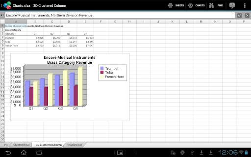 Рис. 13. Приложение OfficeSuite 6 на iOS