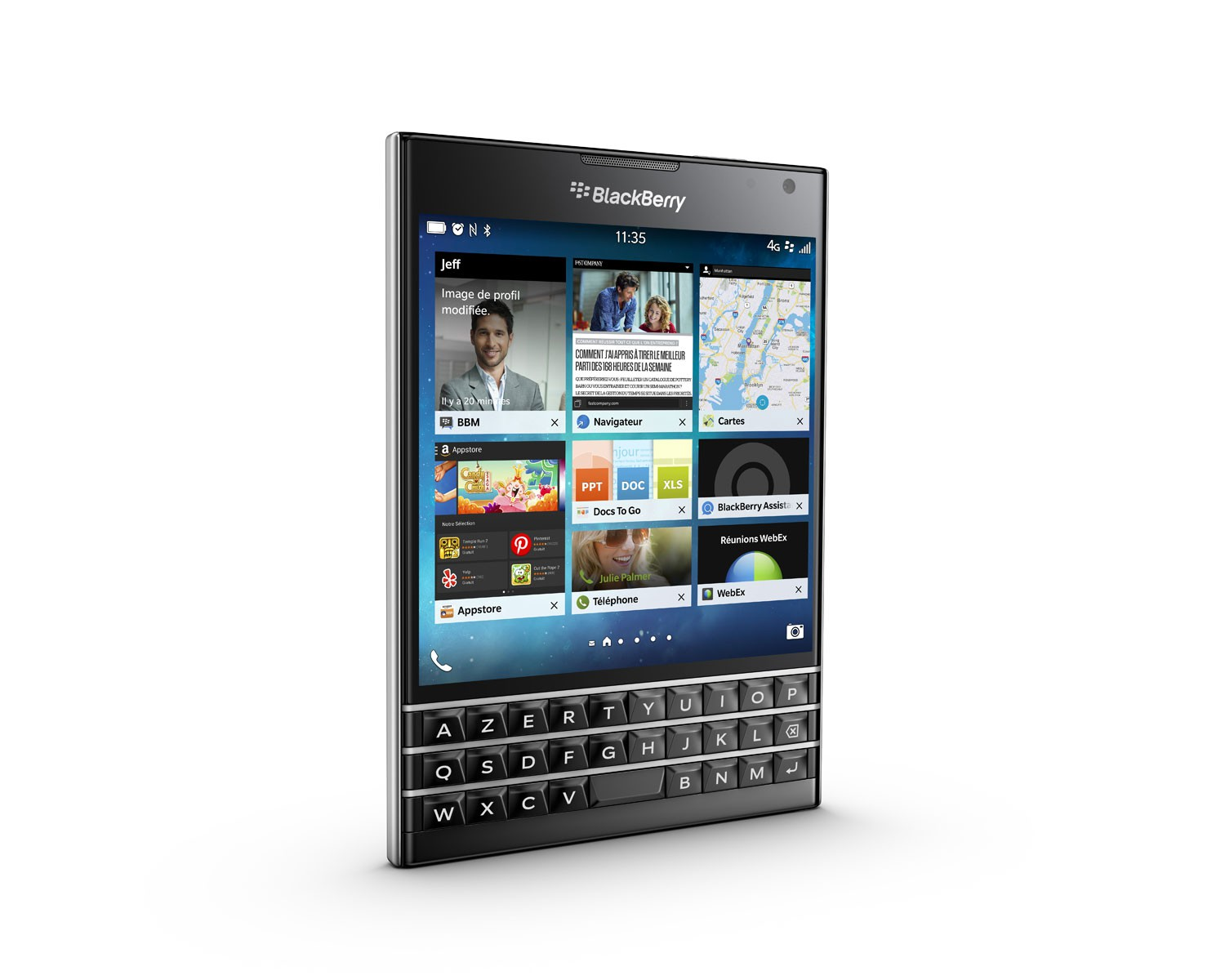 Рис. 29. BlackBerry Passport