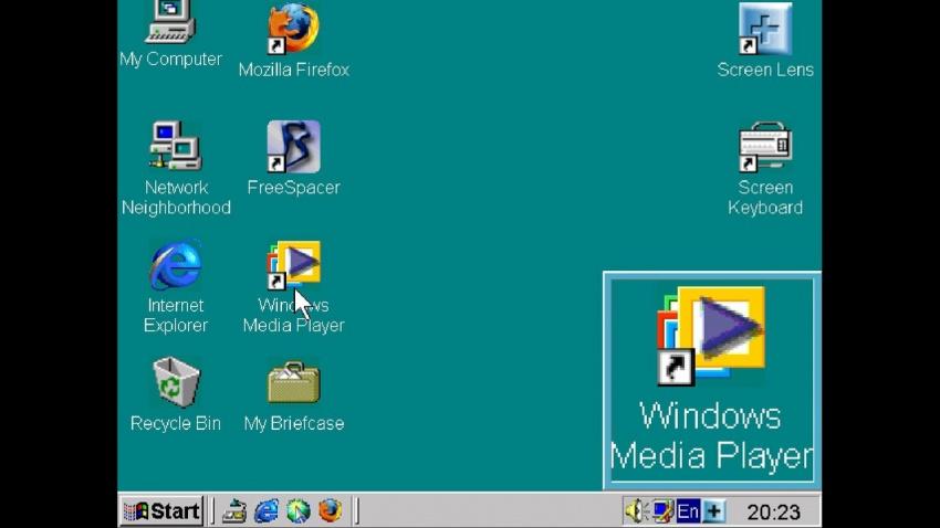 Рис.3. Эмулятор Windows Boschs