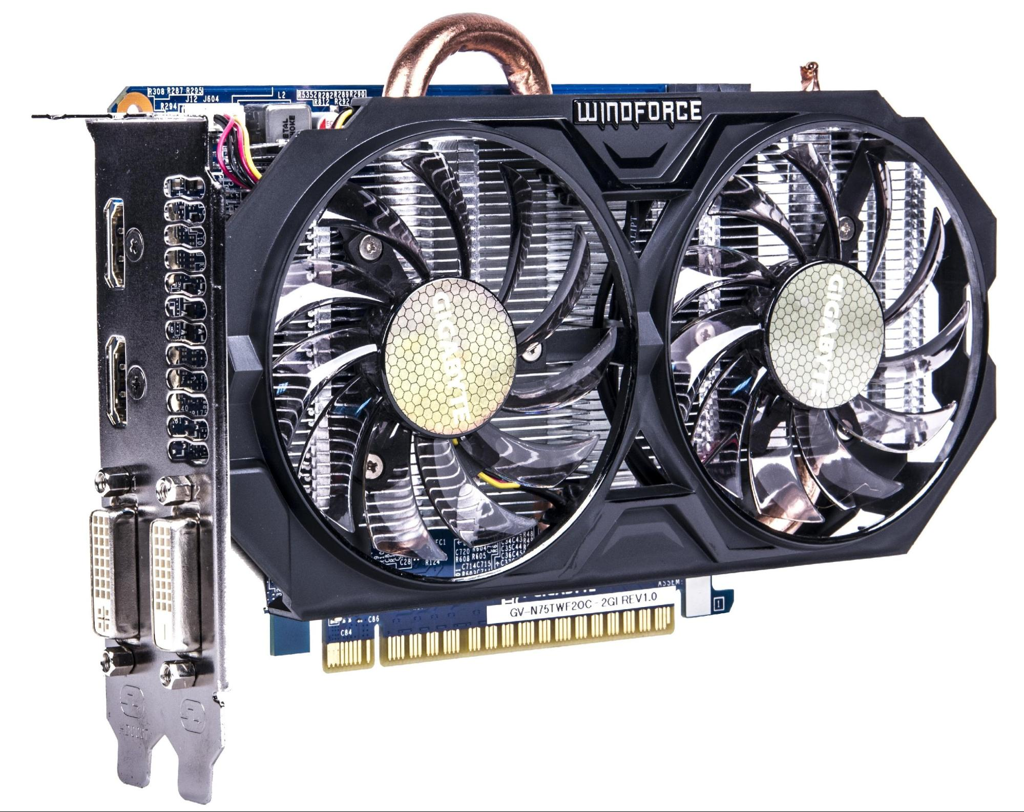 Рис.3. GIGABYTE GeForce GTX 750 Ti: игры запустятся, но на невысоких настройках