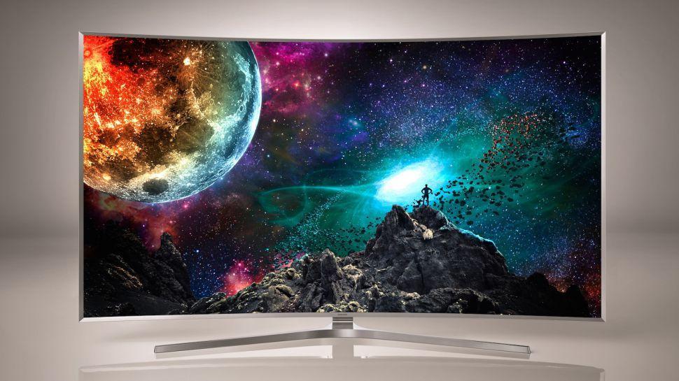 Рис.5. Яркая и качественная картинка на экране Samsung UE65JS9500
