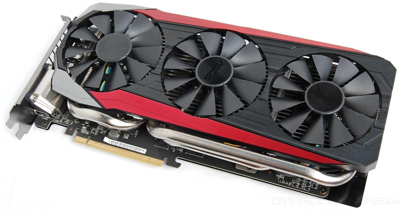 Рис.9. Одна из лучших карт от AMD ASUS Radeon R9 390X