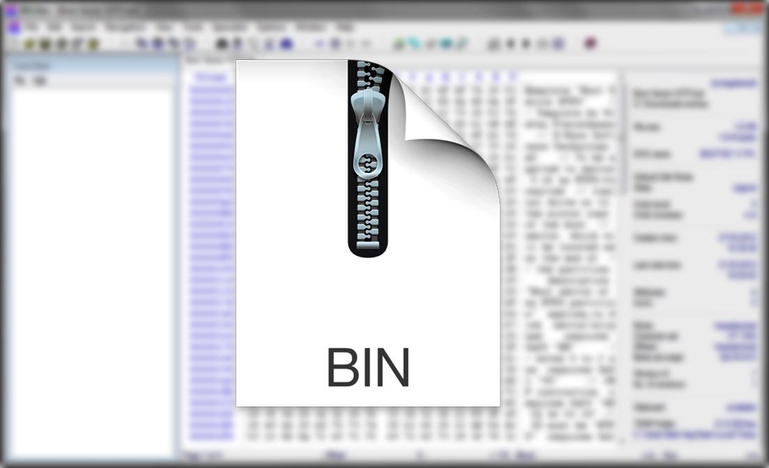 Как сделать bin файл 483