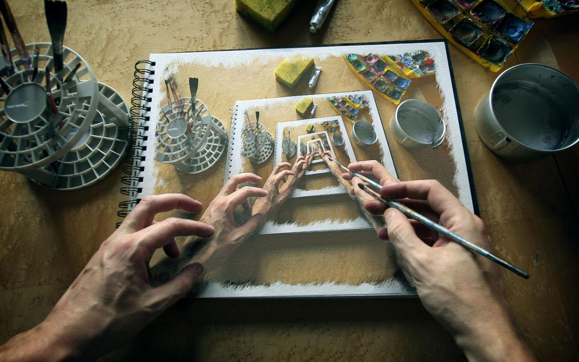 Как вставить картинку в картинку в фотошопе