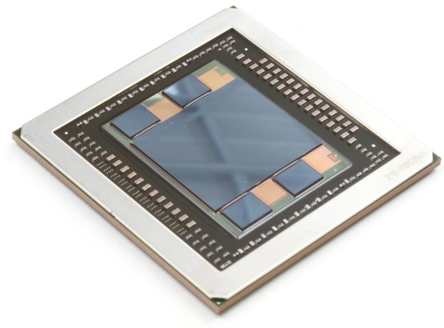 Рис. 1. Чипсет памяти HBM