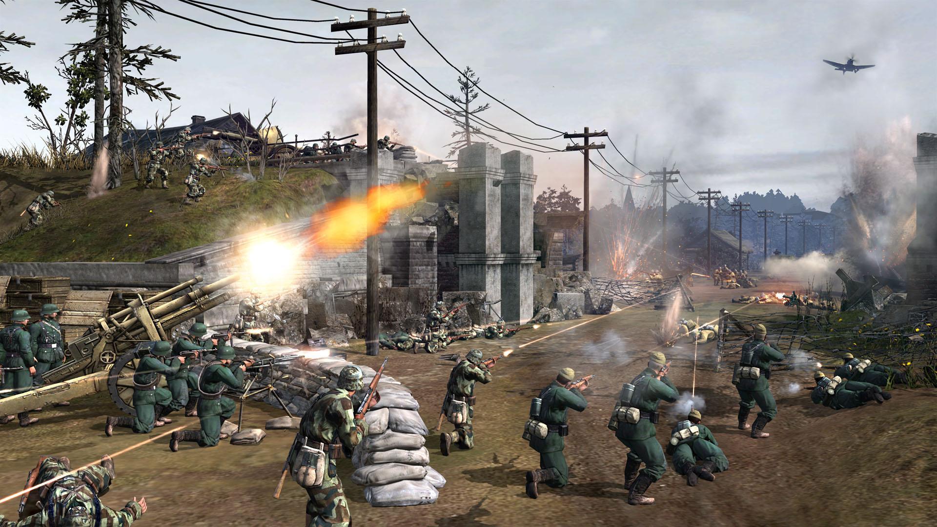 Рис. 5. Хорошее качество изображение в игре Company of Heroes 2 при использовании R9 Fury X