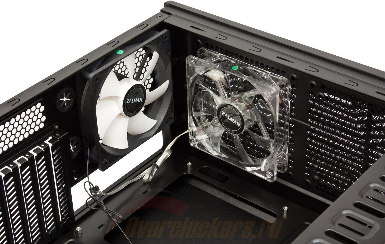 Рис.4. Производительный кулер для охлаждения внутренней части системного блока