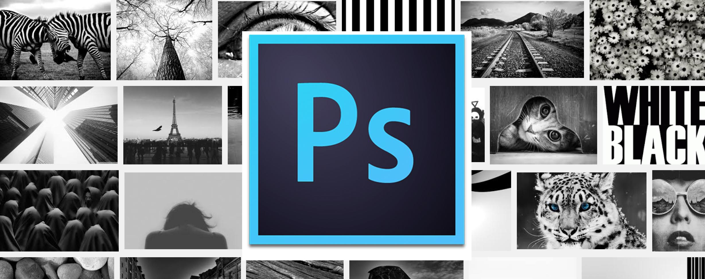 как сделать черно-белое фото в фотошоп