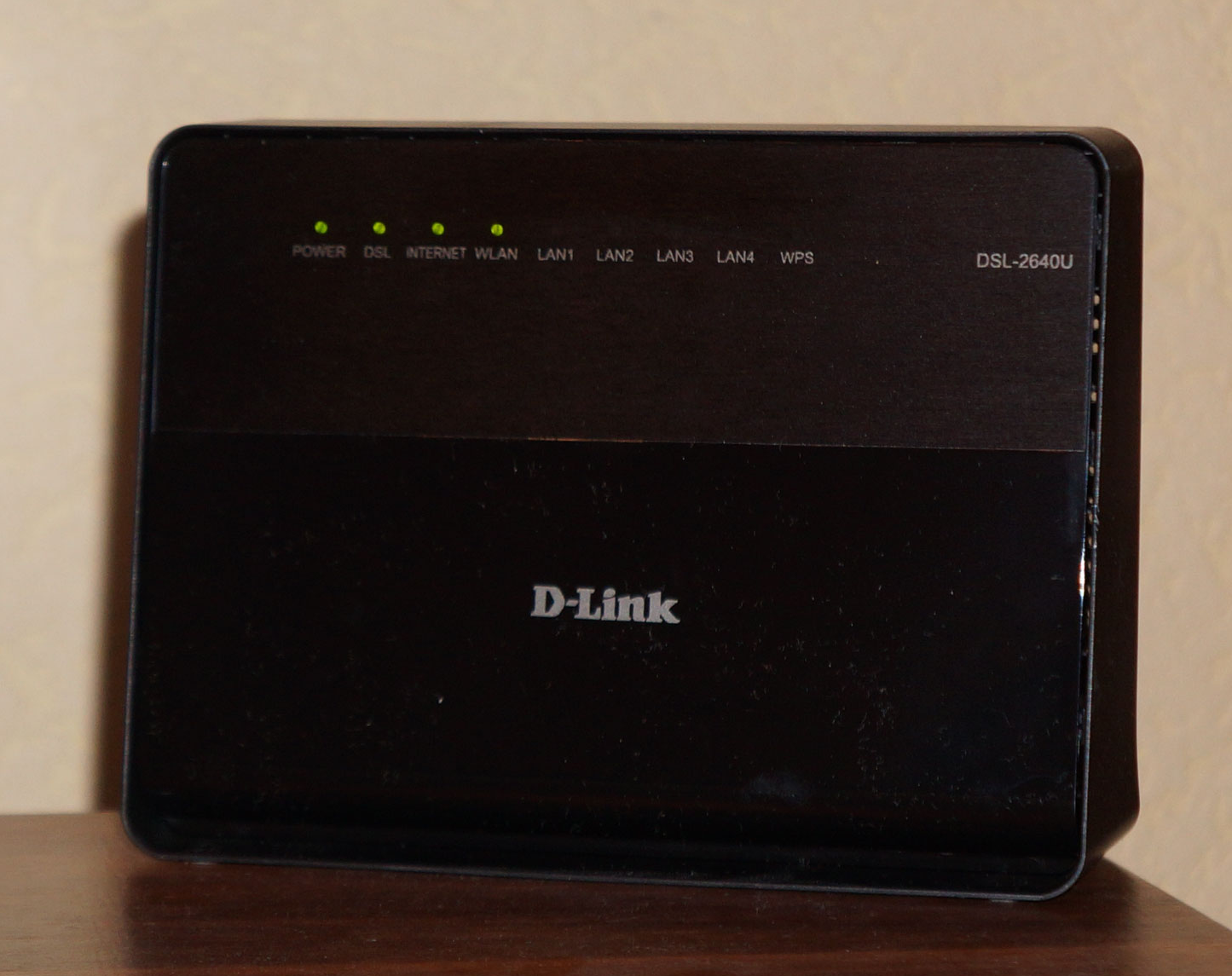 Настройка D Link DSL 2640U