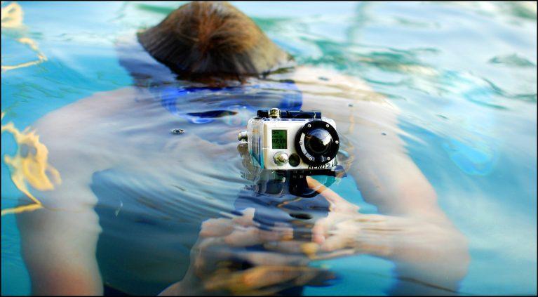 экшен камера для рыбака