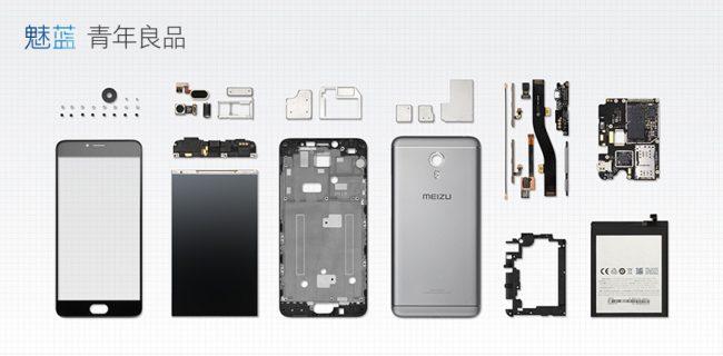 Устройство Meizu M3 Note