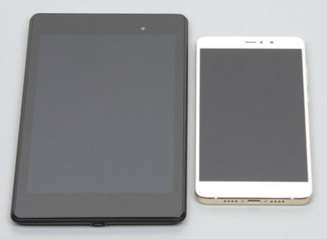 Особенности экрана. Сравнение с Nexus 7