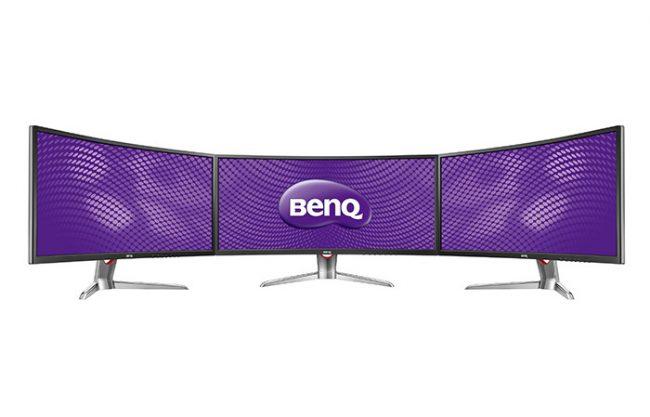 У BENQ XR3501 тонкая рамка