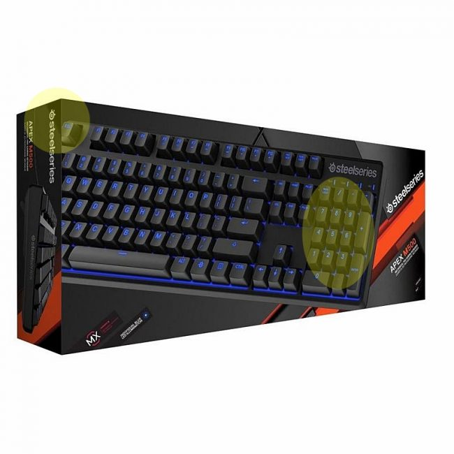 Механическая клавиатура SteelSeries Apex M500 с подсветкой