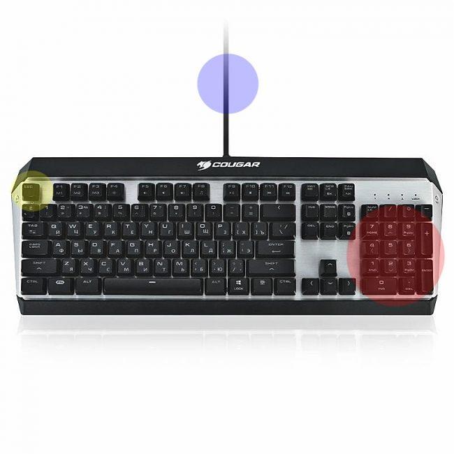 Ультрасовременная клавиатура Attack X3 RGB с подсветкой