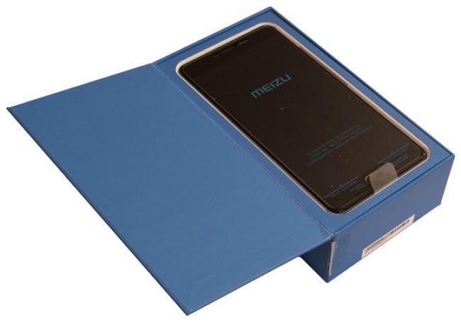 Что внутри коробки с Meizu M3 Max
