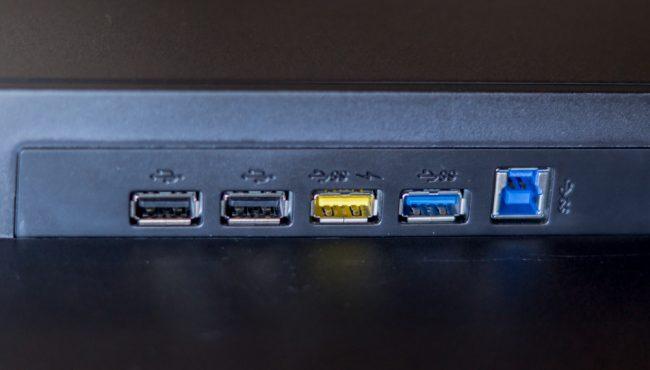 Порты USB на AOC Q3277PQU