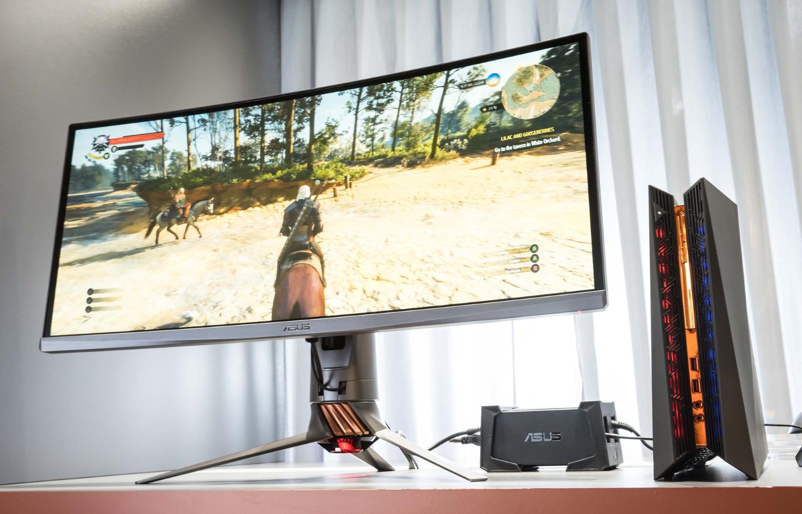 Обзор мониторов с изогнутым экраном