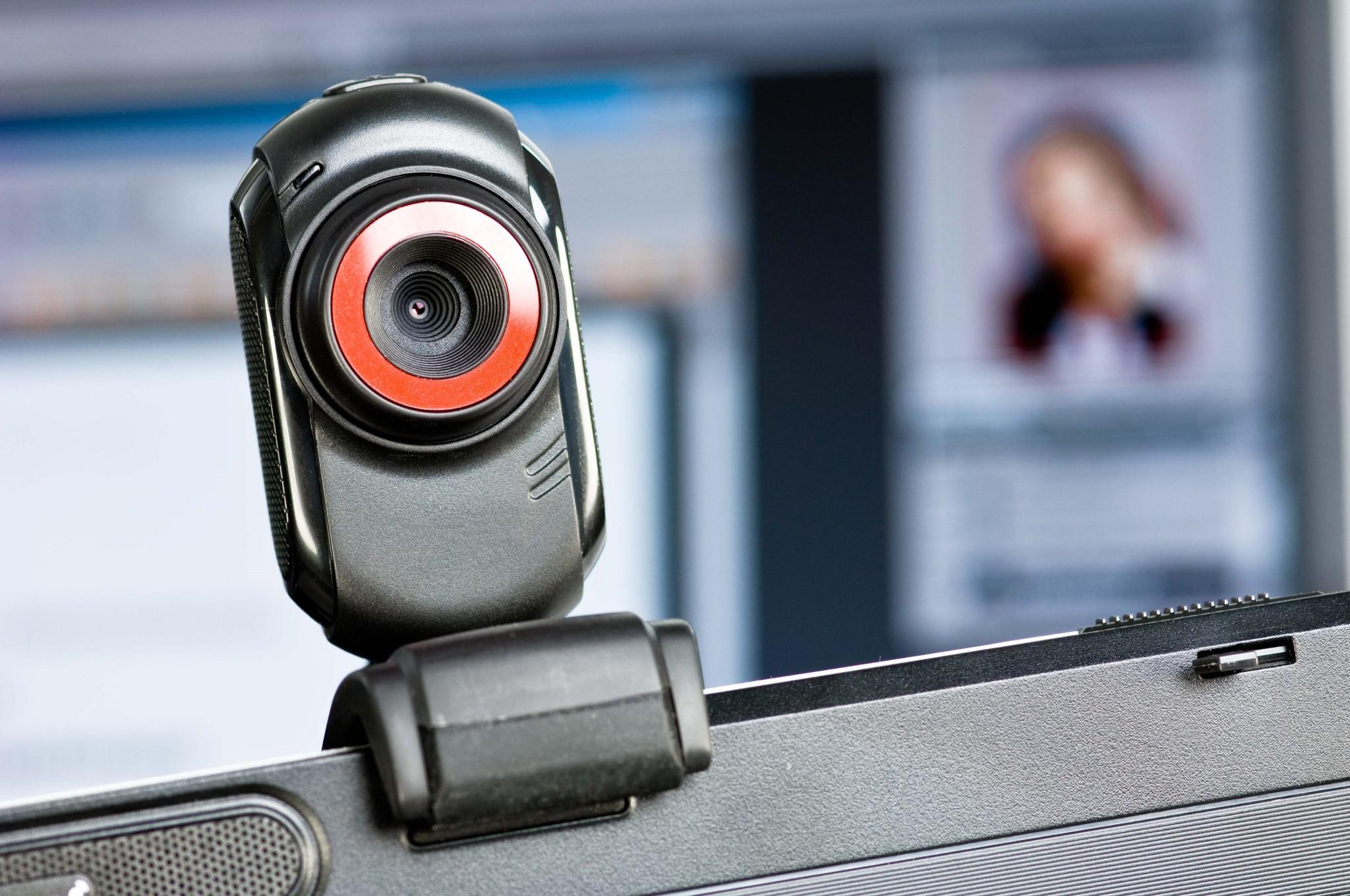 Девушка с верху веб камера