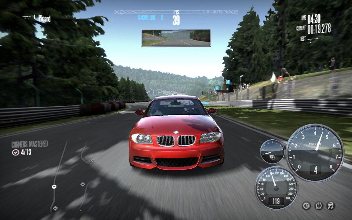 Игра гонки на машинах с рулем скачать